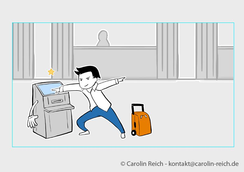 Erklärfilm Storyboard Zeichnung
