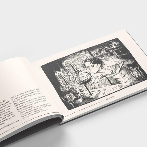 Artbook Hinter der Linie Innenteil 1