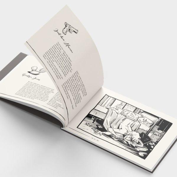 Artbook Hinter der Linie Innenteil 2
