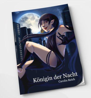 Comic Königin der Nacht