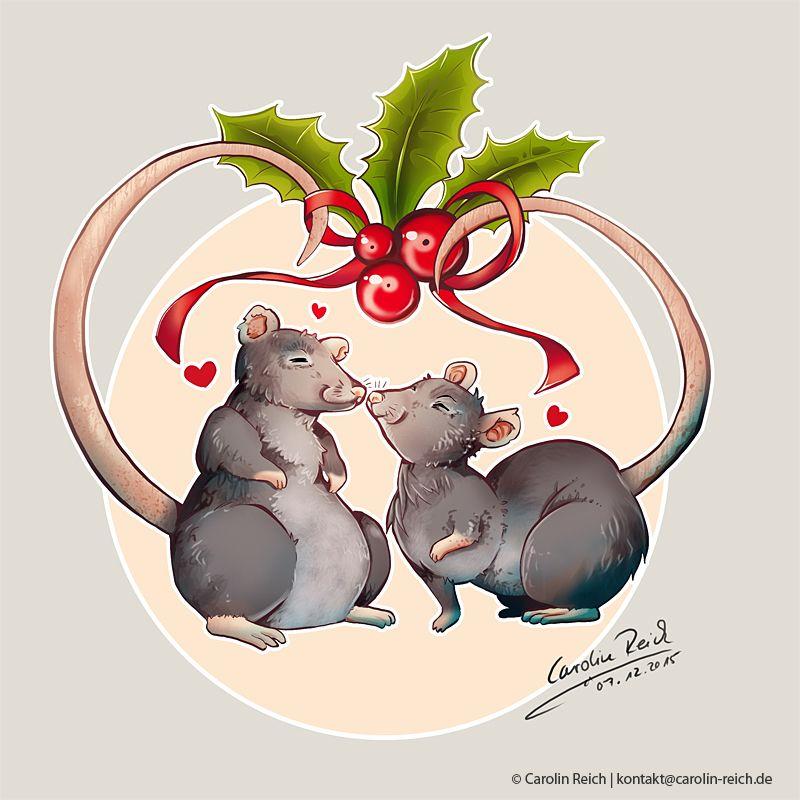 Cartoon Ratten