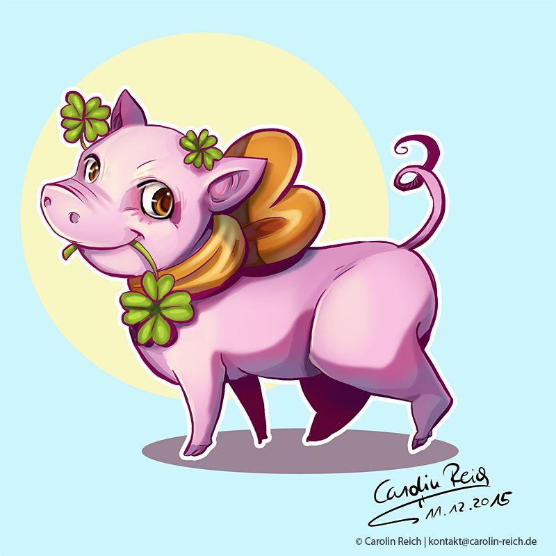 Cartoon Schweinchen