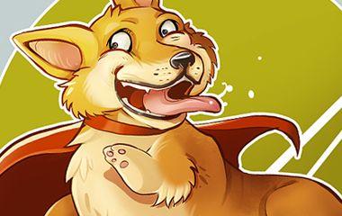 Cartoon Tiere – Social Media Aktion Petvent