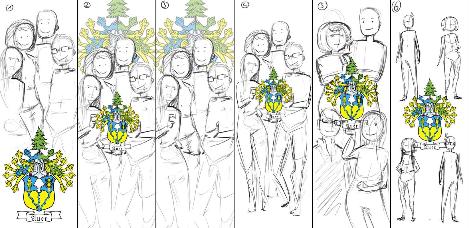 Thumbnails Portraitzeichnung