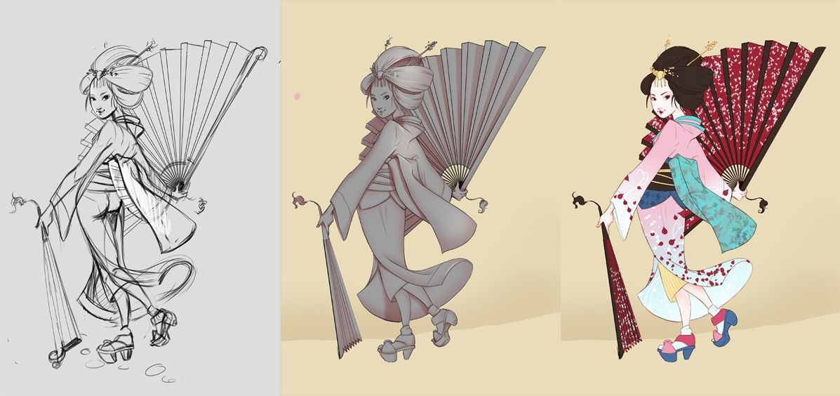 illustration-gisha-steps