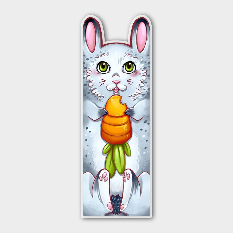 Lesezeichen Hässchen Kaninchen Hase
