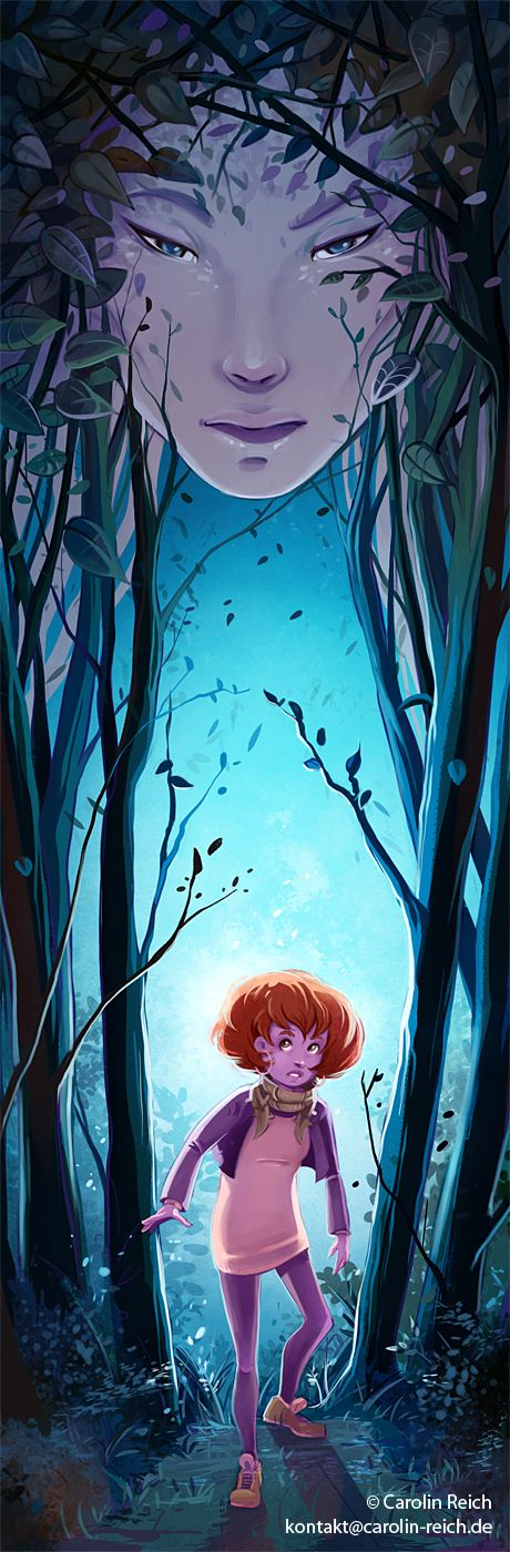 Illustration Fantasy Wald