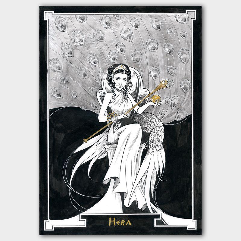 Original Inktober 2017 Hera